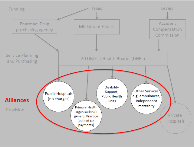 Alliances in the New Zealand Health System